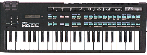 Yamaha DX100 synth