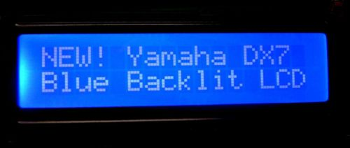 Yamaha DX7 backlit LCD backlight